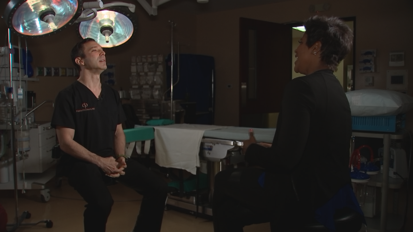 Dr. Pablo Prichard said Scottsdale is a popular place for plastic surgery. (Source: 3TV/CBS 5)