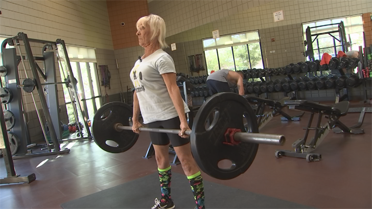 Rocky Luedeker is a 62-year-old, completely vegan, record-breaking powerlifter. (Source: 3TV/CBS 5)