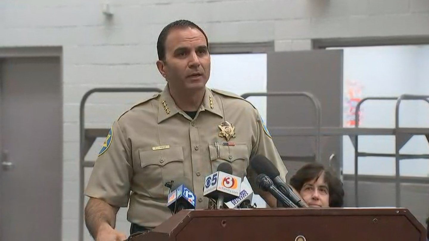 Maricopa County Sheriff Paul Penzone details plans for the now closed Tent City (Source: 3TV/CBS 5)