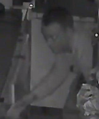Suspect 1 in the burglary. (Source: Silent Witness)