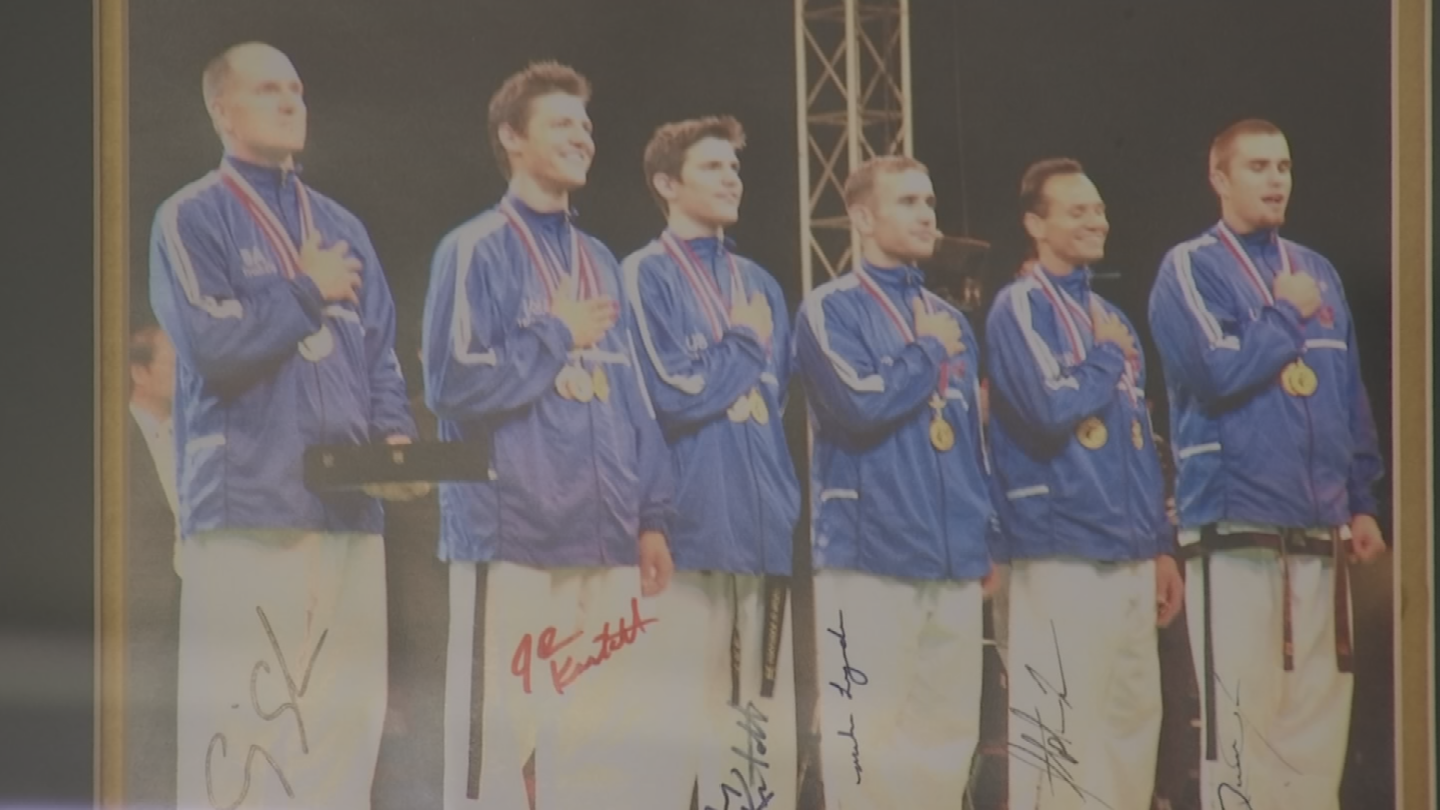 He won a gold medal for the Team USA's taekwondo squad in 2004. (Source: 3TV/CBS 5)