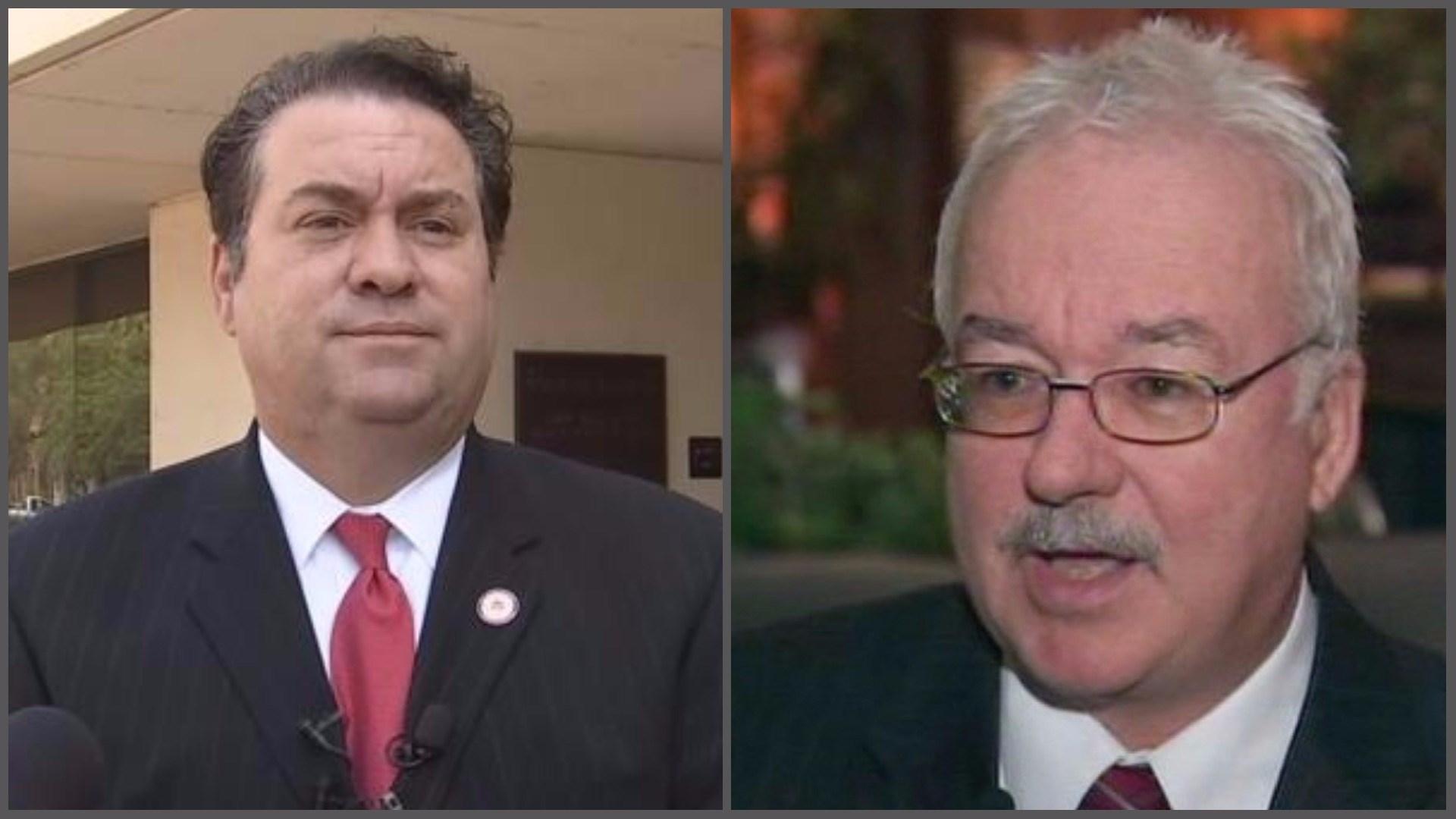Arizona Attorney General Mark Brnovich (left) and State Sen. John Kavanagh (Source: 3TV/CBS 5 file photos)