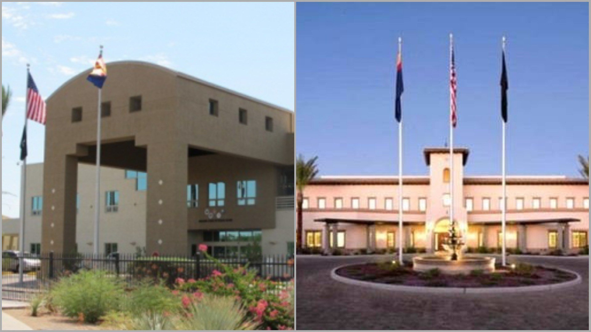 Arizona's two veterans home -- one in Phoenix an the other in Tucson -- have a combined 320-bed capacity. (Source: Arizona Department of Veterans' Services)