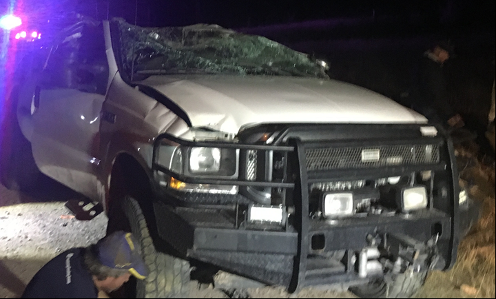Man dies after rollover accident near Show Low (Source: Navajo County Sheriff's Office)