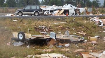 Bellemont Tornado Damage
