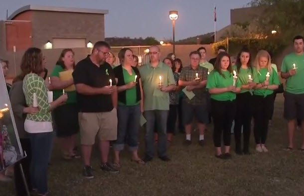 Loved ones held a candlelight vigil for Gorospe this past weekend. (Source: 3TV/CBS 5)