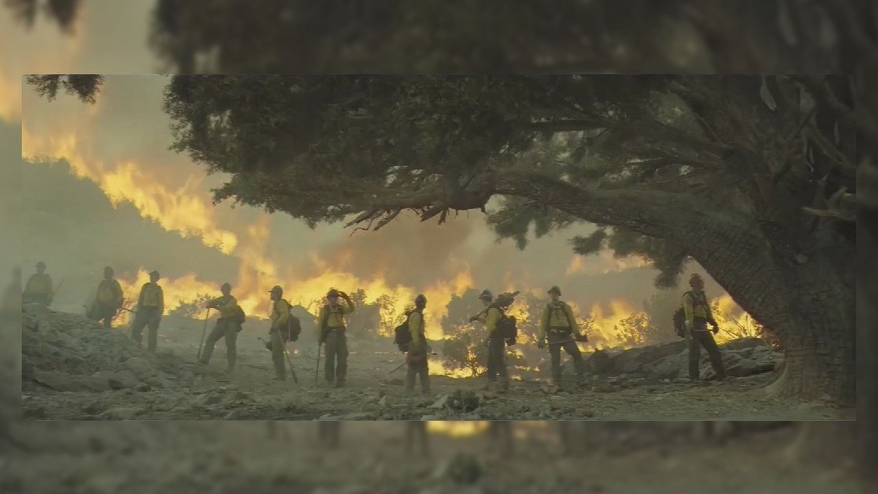 'Only the Brave,' a movie based on the Granite Mountain Hotshots crew that was killed battling the 2013 Yarnell Hill wildfire, opens Friday. (Source: Sony Pictures)