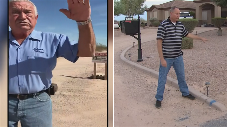 A San Tan Valley man said a Johnson Utilities worker berated him. (Source: 3TV/CBS 5)