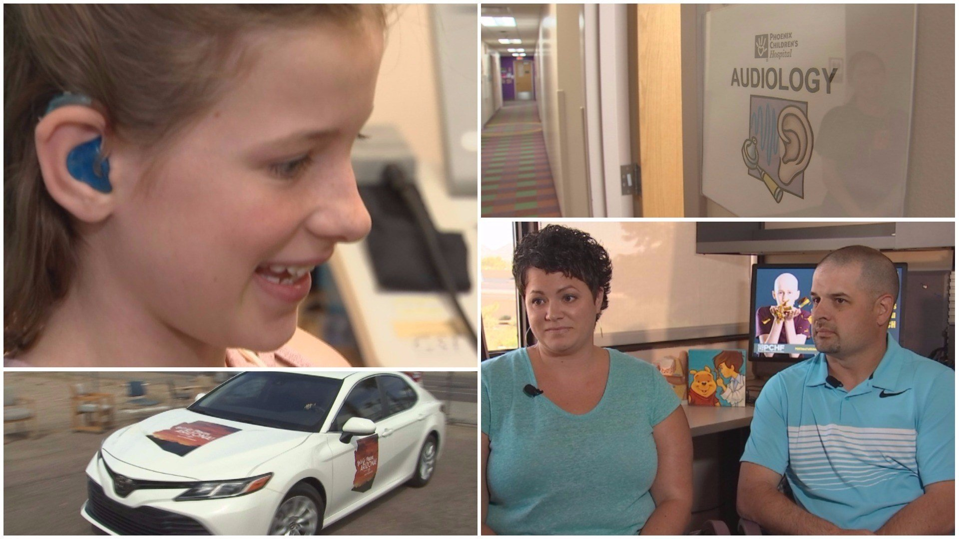 Madison's parents are grateful to The Ear Foundation and the audiology department at Phoenix Children's Hospital. (Source: 3TV/CBS 5)