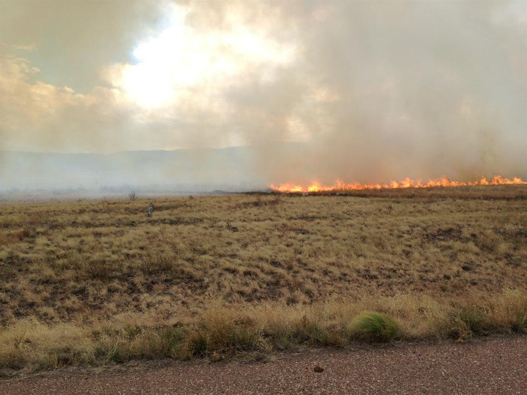 A 2,500 acre wildfire is burning near Eagar (Source: AZ State Forestry)