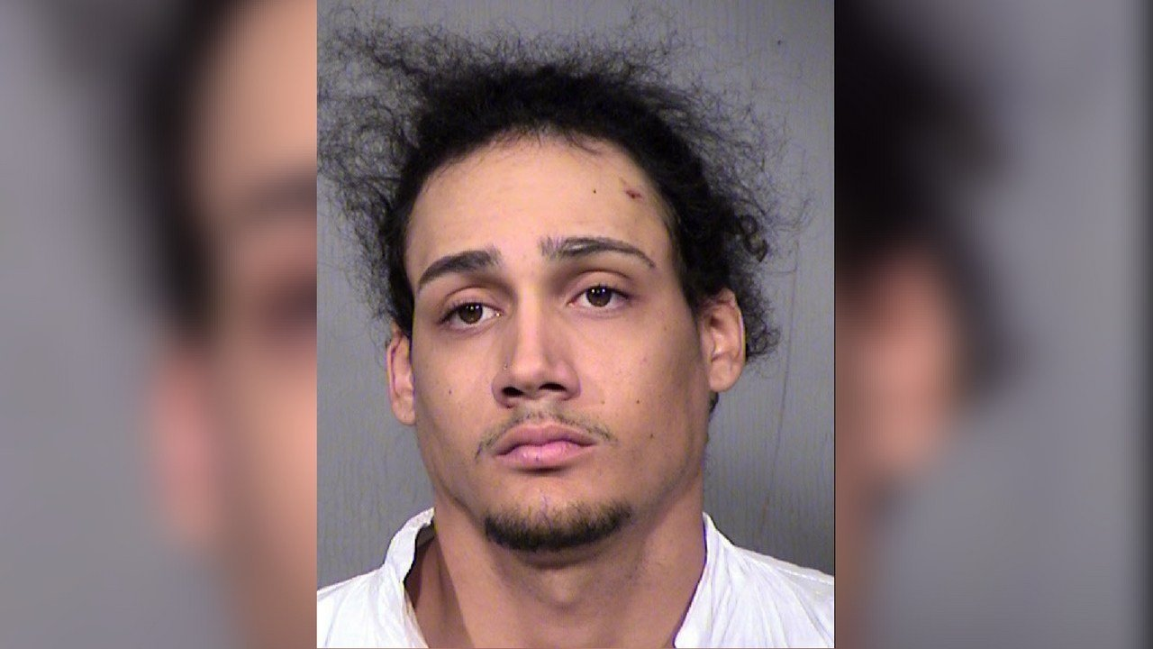 Malik Berkely, 20, arrested in connection with a fatal drive-by shooting in west Phoenix. (Source: Maricopa County Sheriff's Office)
