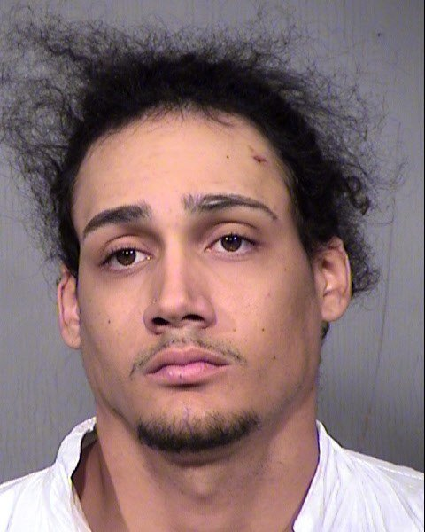 Malik Berkely, 20, arrested in connection to a fatal drive by shooting in west Phoenix. (Source: :Maricopa County Sheriff's Office)
