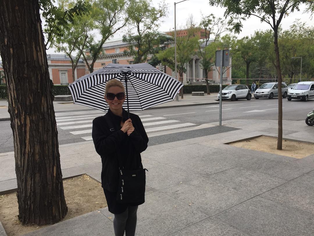 Rain in Madrid