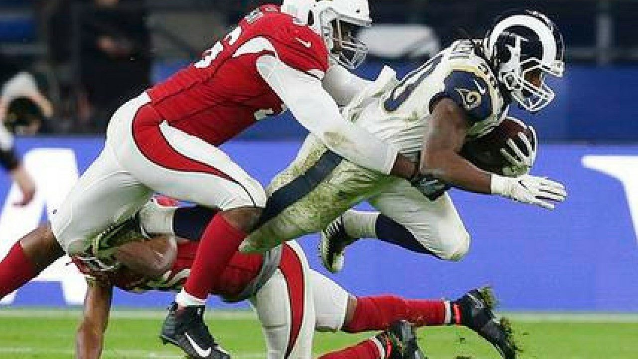 Arizona Cardinals fell to the Rams 33 - 0 Sunday. (Source: The Associated Press)