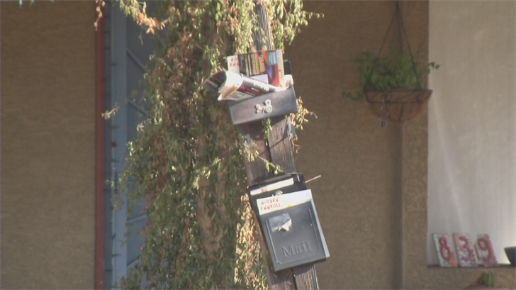 Nine envelopes containing child pornography were delivered to a neighborhood in Tempe. (Source: 3TV/CBS 5)