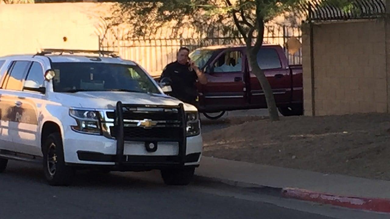 A man was shot in Phoenix. (Source: 3TV/CBS 5)