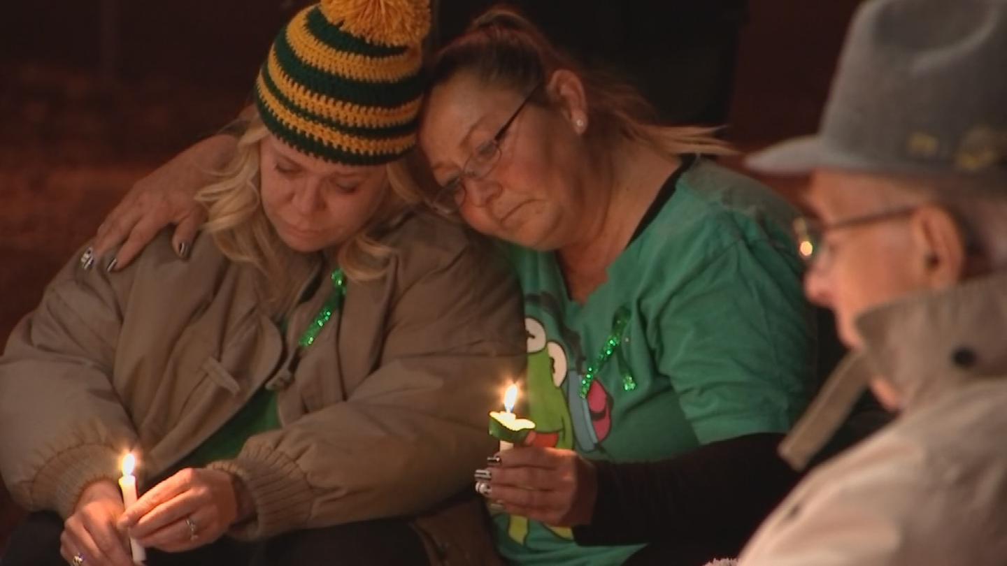 Friends and train co-workers gathered for a vigil to honor Gorospe's memory. (Source: 3TV/CBS 5)