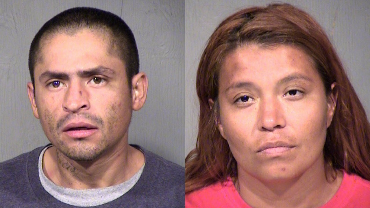 L to R: Ray Rudy Saucedo, III and Tiffany Sunshine Avalos. (Source: MCSO)