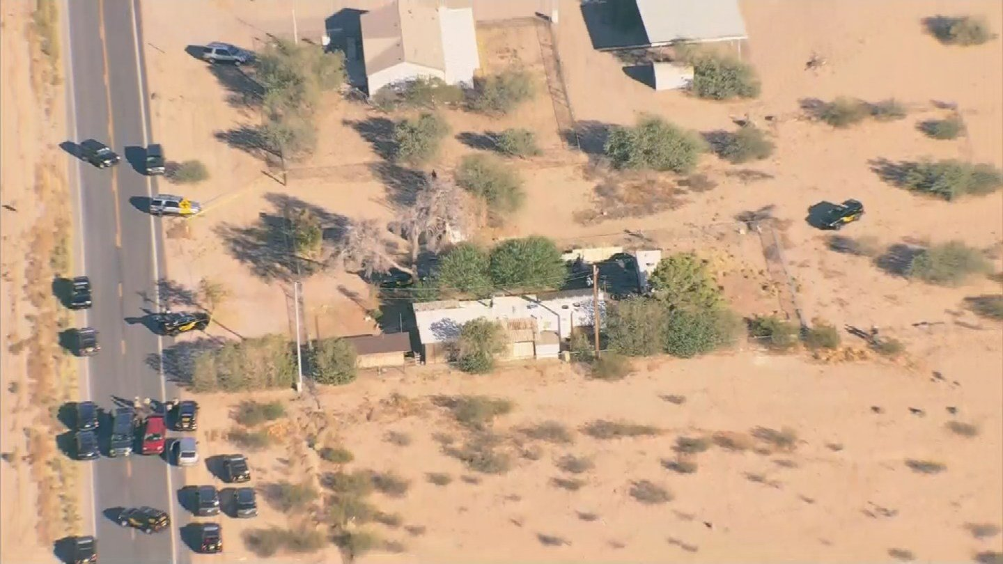 Maricopa sheriff officials are working a homicide in Tonopah. (Source: 3TV/CBS 5 News)