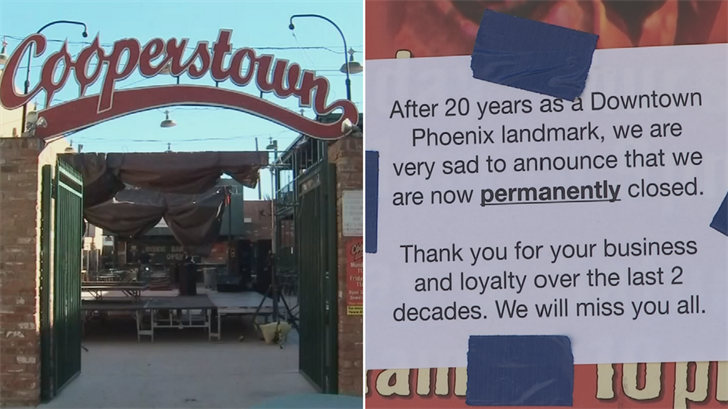 Alice Cooper'stown is officially closed. (Source: 3TV/CBS 5)