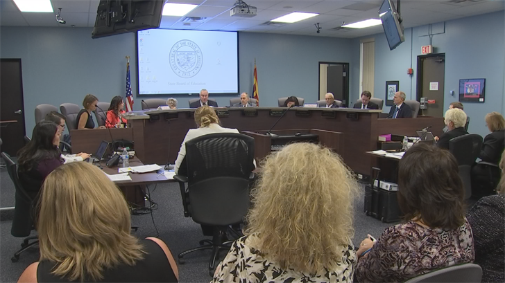 The Arizona Board of Education decided to delay issuing final grades to schools in state. (Source: 3TV/CBS 5)