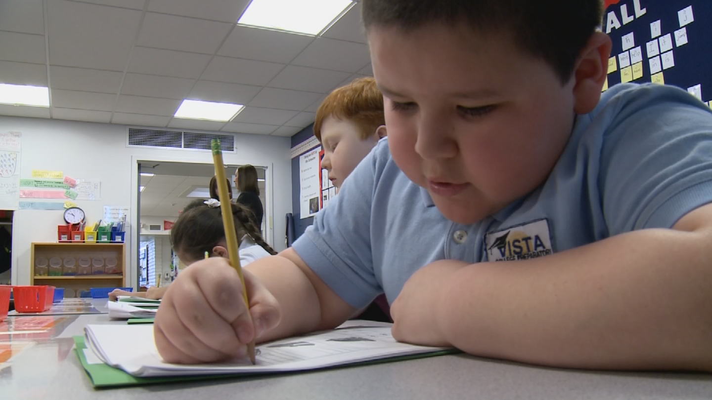 "Schools receiving an ""A"" get an extra $450 or $250 in state aid per student depending on location. (Source: 3TV/CBS 5)"