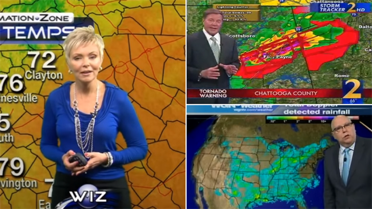 Royal Norman has a few weathercasters he enjoys watching. (Source: YouTube)