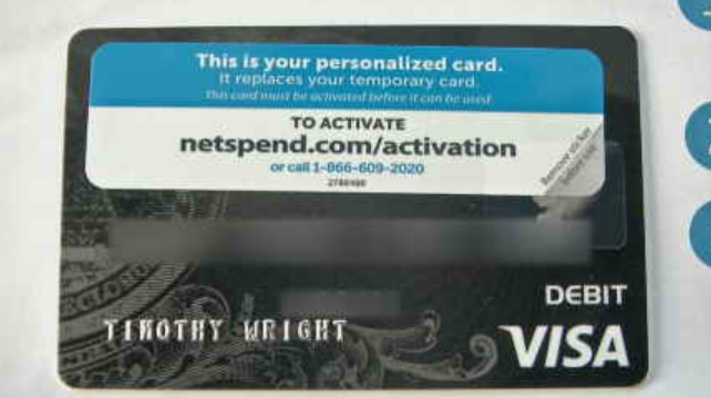 NetSpend told CBS 5 News that, in some cases, they do send prepaid cards out unsolicited, but that wasn't the case with Wright where fraud was involved. (Source: CBS 5)