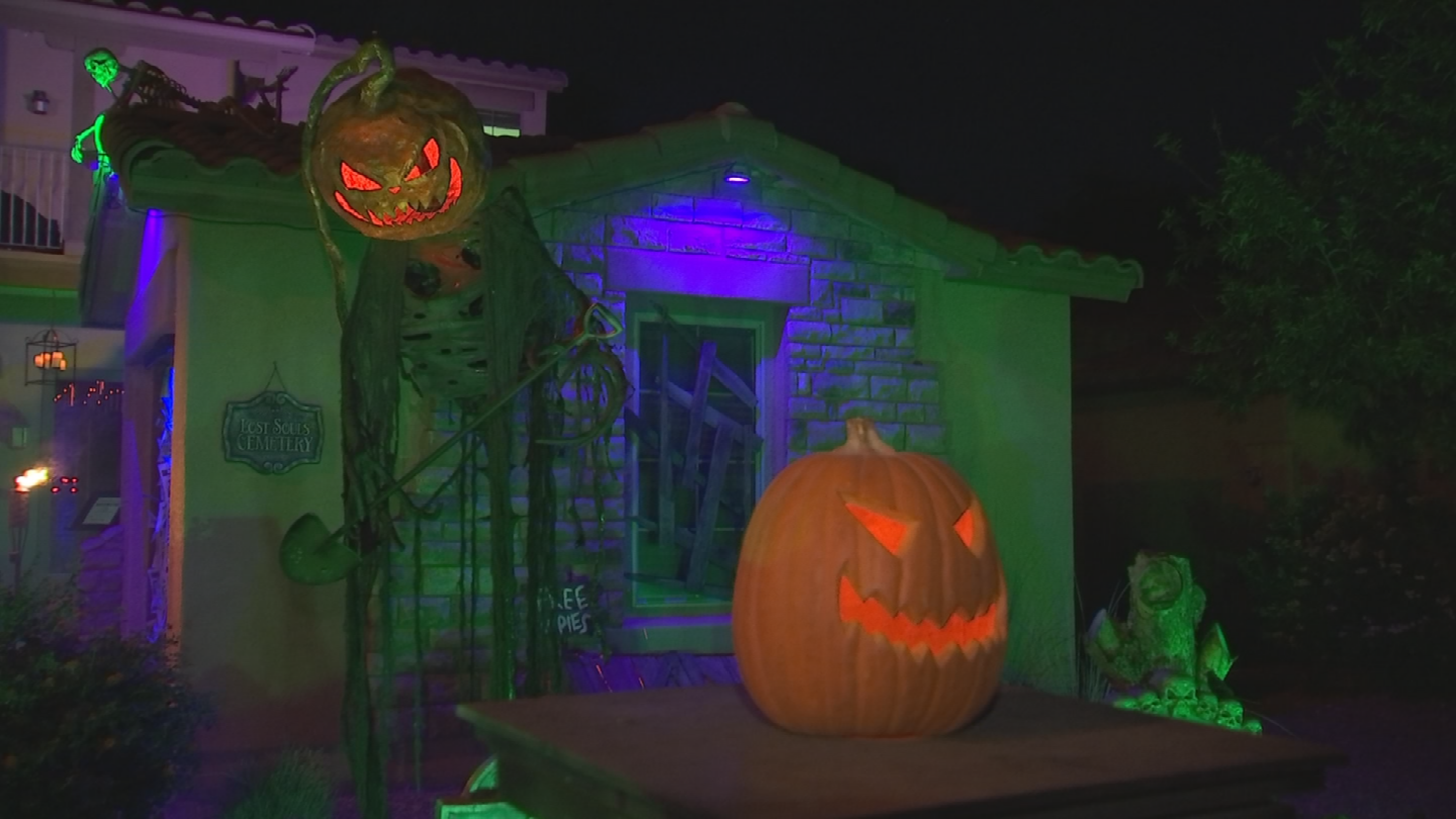"""""""Hanus Manor"""" could give Disney's """"Haunted Mansion"""" a run for its money.(Source: 3TV/CBS 5)"""
