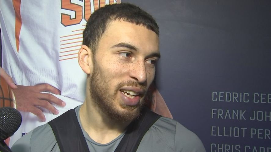 Suns rookie Mike James has had an incredible journey to get to the NBA. (Source: 3TV/CBS 5)