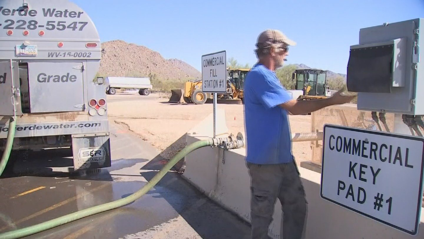 Epcor wants to build a water station like this one in Scottsdale on land in Anthem. (Source: 3TV/CBS 5)