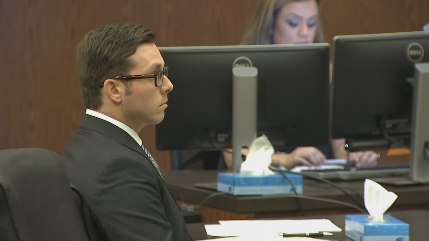 Brailsford faces a murder charge in the January 2016 shooting death of Daniel Shaver. (Source: Pool)