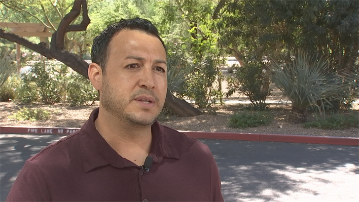 Rudy Montijo, 37, knows first hand about the drug epidemic in Arizona and across the country.  The Phoenix loan officer spent 15 years battling addiction and it nearly killed him. (Source: 3TV/CBS 5)