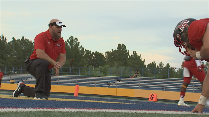 Aaron Bentley has coached for 17 years and enters his second year at Arizona Christian University.(Source: 3TV/CBS 5)