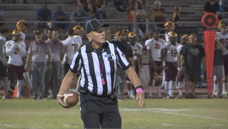 Arizona football official Larry Kindred has been working games for over 50 years. (Source: 3TV/CBS 5)