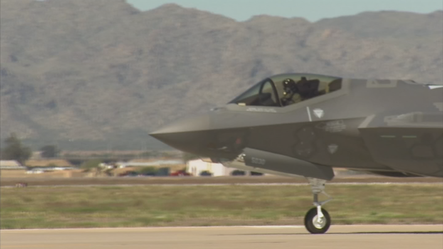 Officials at Luke grounded all F-35 flights June 9 after five in-flight incidents of hypoxia-like episodes at the base in a roughly five-week span. (Source: 3TV/CBS 5)