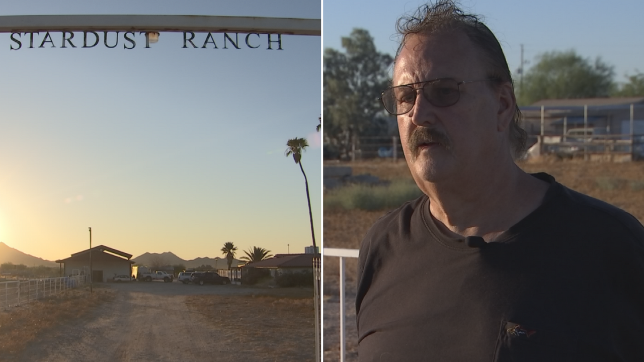 John Edmonds is selling his ranch in Buckeye due to the extra-terrestrials. (Source: 3TV/CBS 5)