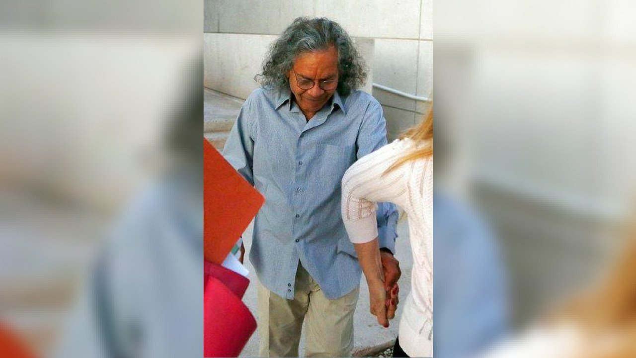 Billionaire founder of Insys Therapeutics John Kapoor leaves U.S. District Court after being arrested earlier Thursday, Oct. 26, 2017, in Phoenix. (Source: AP Photo/Ross D. Franklin)