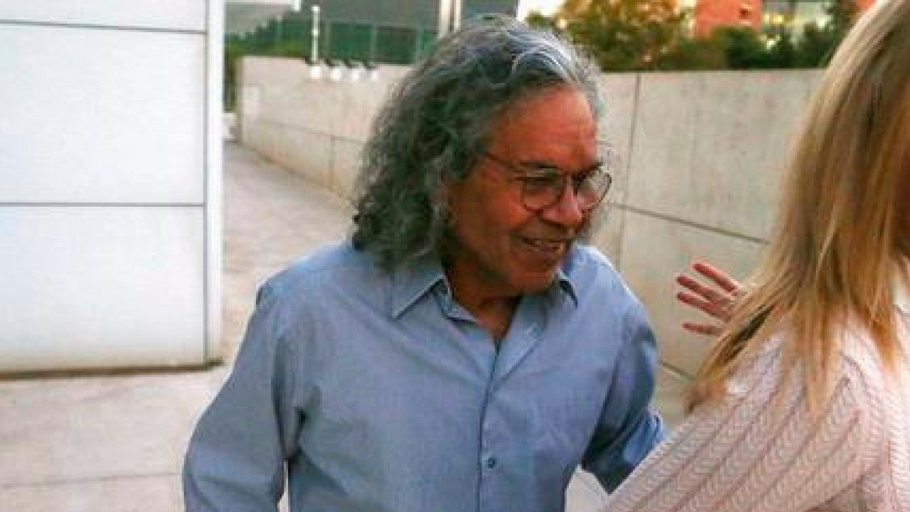 Billionaire founder of Insys Therapeutics John Kapoor leaves U.S. District Court after being arrested earlier Thursday, Oct. 26, 2017, in Phoenix.(Source: AP Photo/Ross D. Franklin)