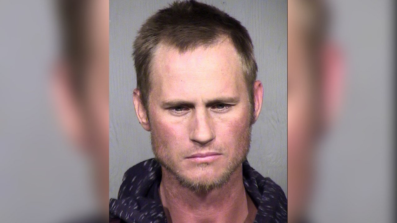 Kent Raisanen, 32 arrested for stealing a city truck in Phoenix (Source: Maricopa County Sheriff's Office)