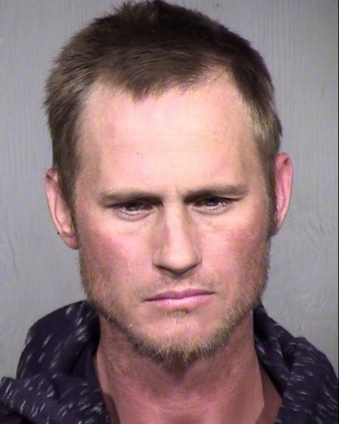 Mug shot of 32-year-old Kent Raisanen. (Source: Maricopa County Sheriff's Office)