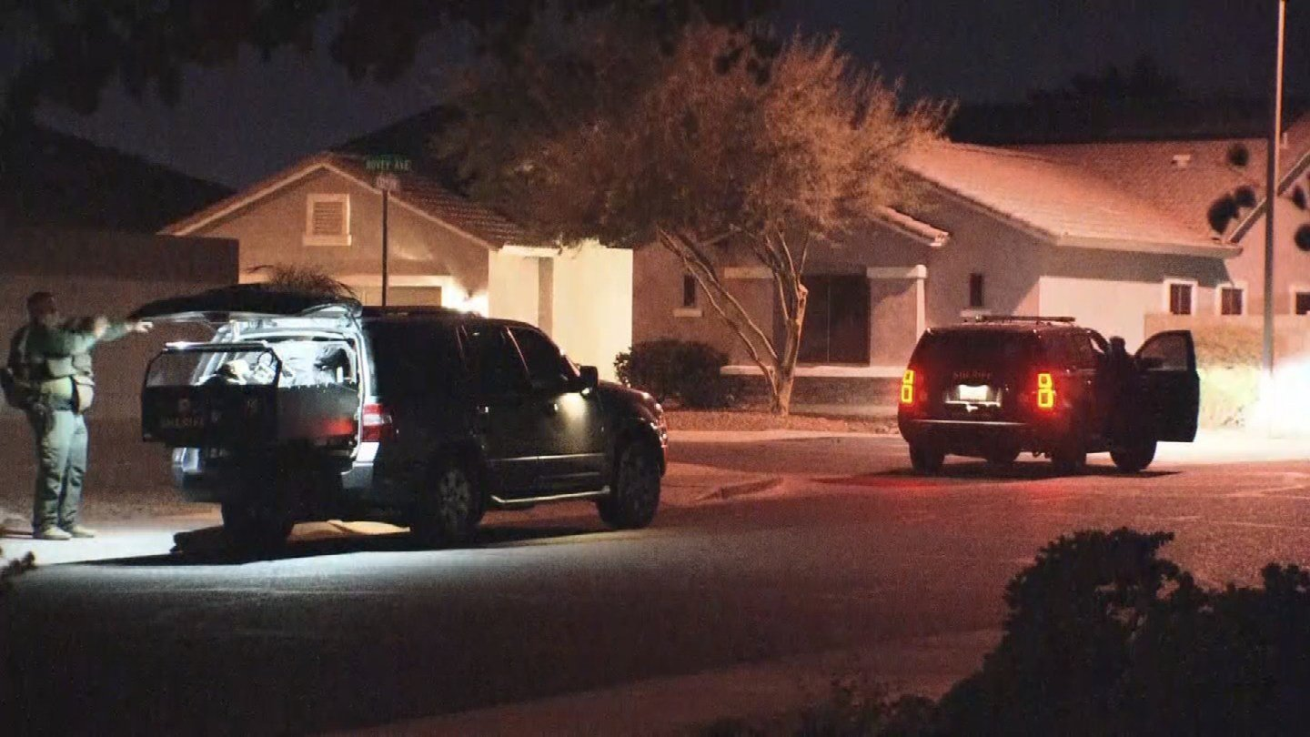 A suspect barricaded himself in a Litchfield Park home after a domestic incident. (Source: 3TV/CBS 5)