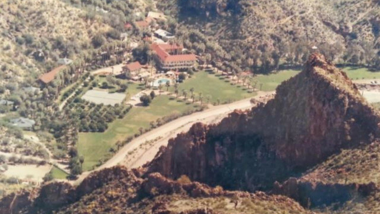 Castle Hot Springs Resort in the Bradshaw mountains. (Source: Arizona State University)