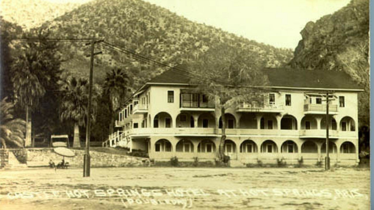 Historic Castle Hot Springs resort.  (Source: Arizona Archive Online)