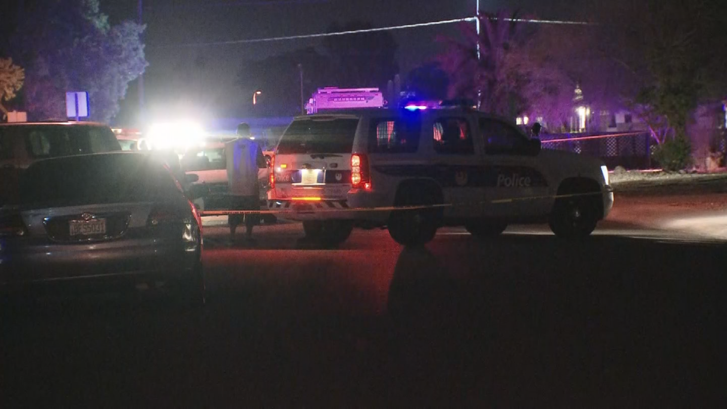 The stabbing occurred around 6:45 p.m. near Dunlap and 39th avenues. (Source: 3TV/CBS 5)