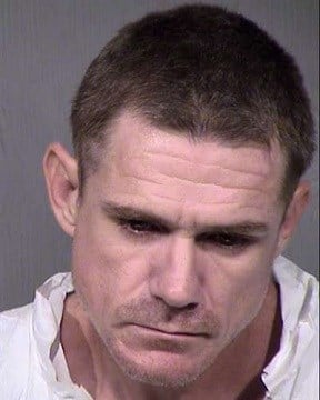 Mug shot of 39-year-old Lonnie Kampe. (Source: Maricopa County Sheriff Dept.)