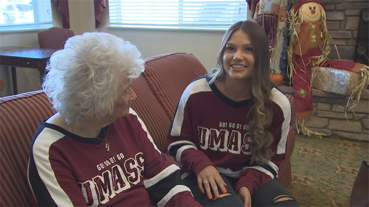 Kenadee Rausch loves spending time with her grandmother. (Source: 3TV/CBS 5)