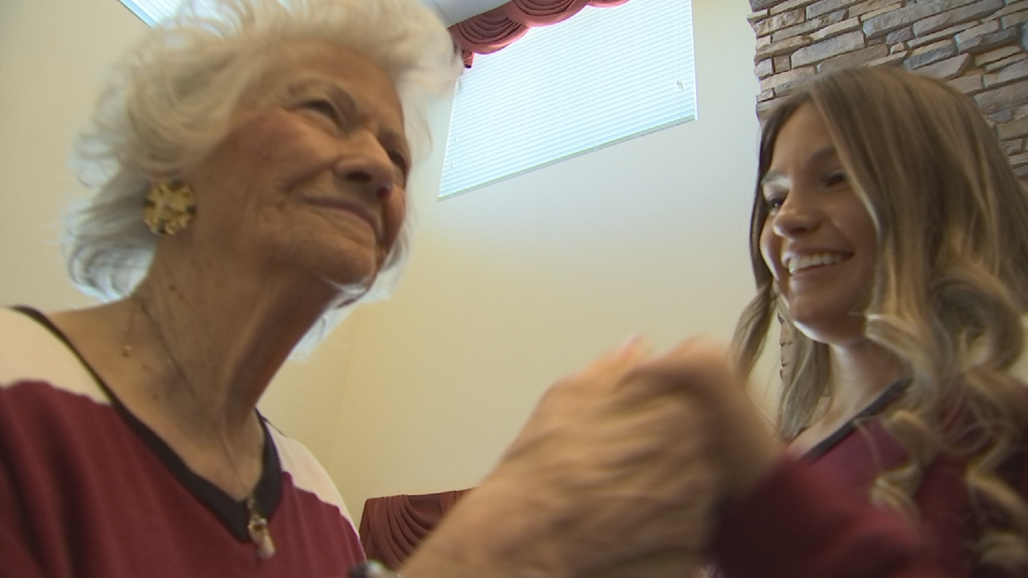 They are so tight that grandmother Lou's fight against Alzheimer's doesn't stand in their way.(Source: 3TV/CBS 5)
