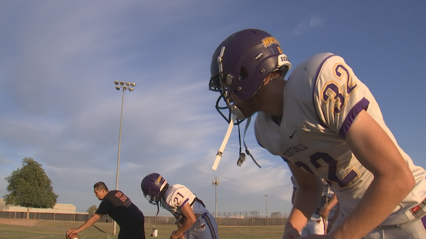 Sunrise Mountain High School football team on the strength of a 9-1 record will be a No. 1 seed in the AIA 4A playoffs. (Source: 3TV/CBS 5)