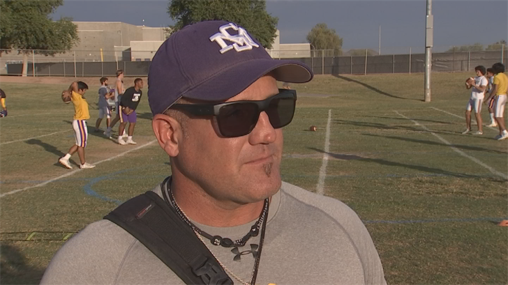 """It's definitely an honor,"" said head coach Steve Decker. (Source: 3TV/CBS 5)"